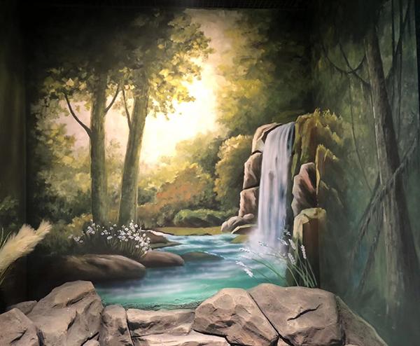 青岛墙体彩绘