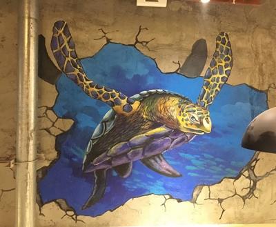 丹东墙体彩绘