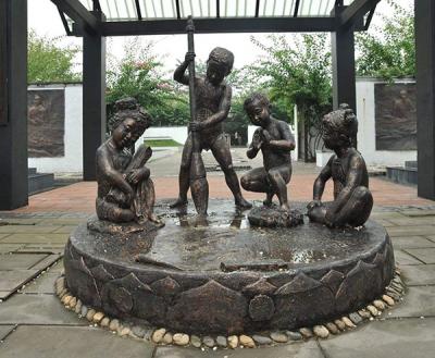 大连铜雕塑